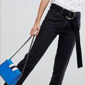Cheap Monday revive crop black jeans